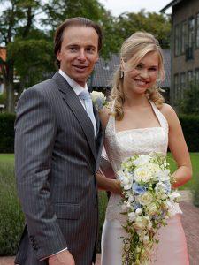 2.) Bruiloft: Marina & Eric   Hair & Make-up: Mariska Krikke