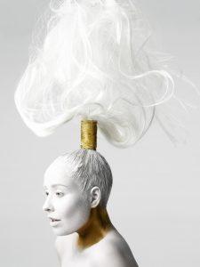 Mariska Krikke   Coiffure Award 2019 Avant Garde   Tanja Kok   Fotograaf: Dirk Lambrechts